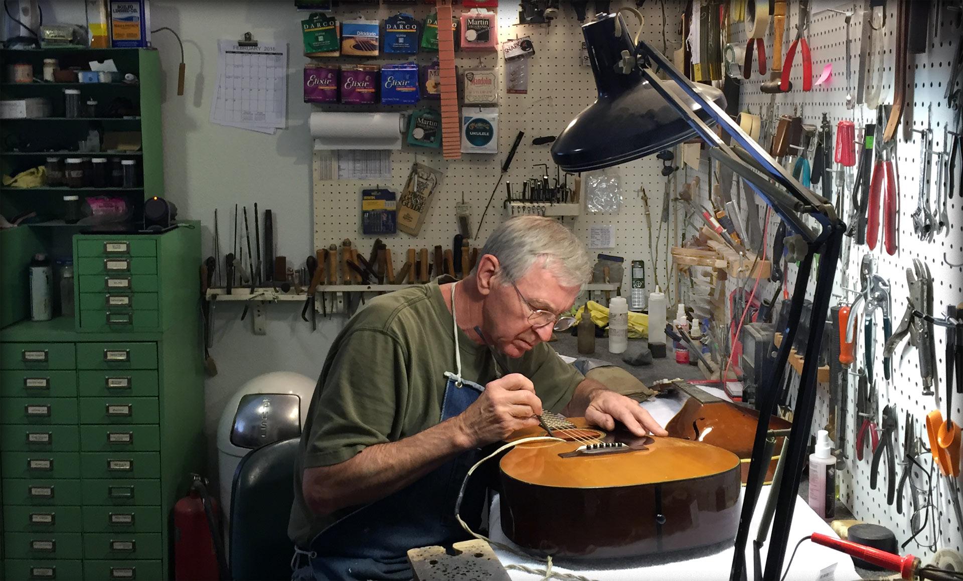 Florida Luthier Ross Teigen