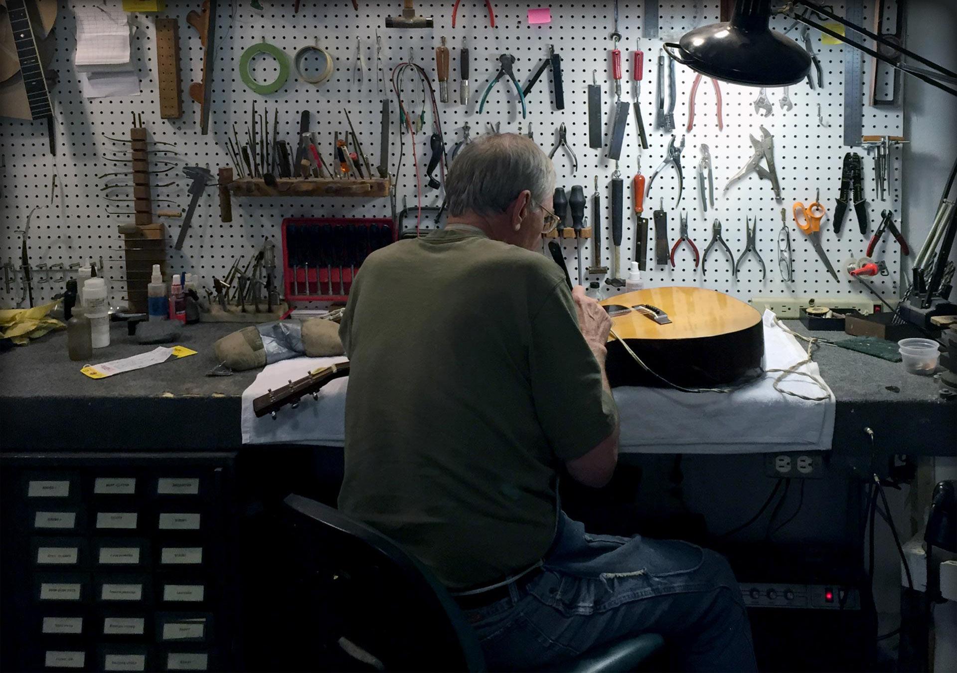 Restoring Vintage Acoustic Guitars
